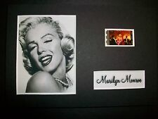 MARILYN MONROE Movie Film Cell Memorabilia compliments poster dvd book cd