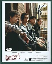 """The All-American Rejects"" signed 8""x10"" Photo JSA Authenticated Group signed"