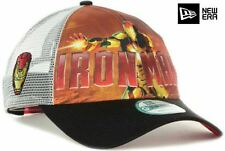 Marvel Comics Iron Man Movie Men New Era 9Forty Mesh Snapback Trucker Hat Cap