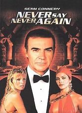 NEVER SAY NEVER AGAIN R1 DVD JAMES BOND SEAN CONNERY