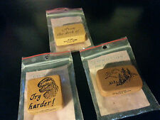 3x Co Motion Rubber Stamps Lot!! Vintage!!