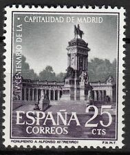 TIMBRE ESPAGNE  NEUF N° 1061 **  MADRID MONUMENT ALPHONSE XII