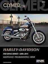 Harley-Davidson FXDB Street Bob FXDWG Dyna Wide Glide 06-11 Clymer Handbuch M254
