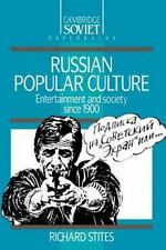 Russian Popular Culture : Entertainment and Society since 1900 (Cambri-ExLibrary