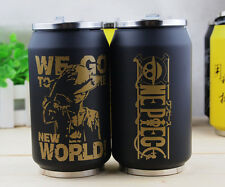 Anime One Piece Vacuum Thermos Mug Can of cola Stainless Steel  300ml
