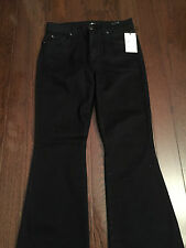 BRAND NEW with tags 7 for All Mankind Black Wide Leg Jean Size 32 - $189 vlaue