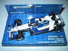 Minichamps F1 1/43 WILLIAMS BMW FW23 JP MONTOYA GP MONZA 2001
