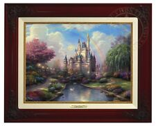 Thomas Kinkade - Disney World - Canvas Classic (Brandy Frame)