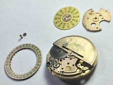 Omega cal 1020 Disk date .Will only be sold via ebay