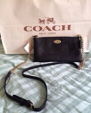 BRAND NEW! 52709 COACH Embossed Textured Leather Quinn Crossbody Bag