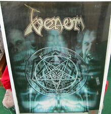 VENOM POSTER LIVE NEW 1999 ORIGINAL VINTAGE  DEATH BLACK METAL OUT OF PRINT
