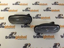Land Rover Defender TD5 Clear Oval Side Indicator Repeater x2 - Bearmach