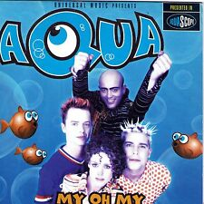 CD CARTONNE CARDSLEEVE 2T AQUA MY OH MY DE 1998 MADE IN FRANCE