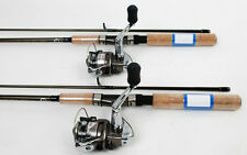 2 Shimano Syncopate 1000 Spinning Reels 6ft Rods NEW