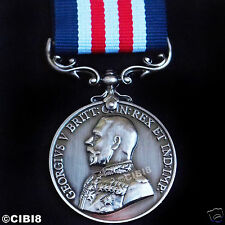 BRAVERY IN THE FIELD MILITARY MEDAL GEORGE 5TH BRITISH ARMY AWARD REPRO HONOR