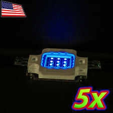 [5x] 10W Bright BLUE LED 465nm High Power 400LM 12V 10 Watt Lamp