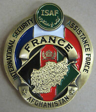 "Fermacarte Commemorativo ""FORZE ARMATE FRANCIA"" - MISSIONE ""ISAF"" - AFGHANISTAN"