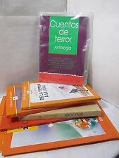 CUENTOS DE TERROR: ANTOLOGIA Spanish Literature Libros en Espanol