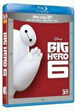 BIG HERO 6. BLU-RAY 3D + BLU-RAY 2D PRECINTADO ENVÍO CERTIFICADO