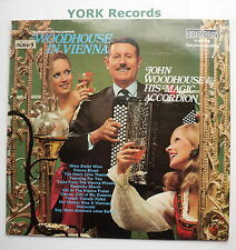 JOHN WOODHOUSE & HIS MAGIC ACCORDIAN - Woodhouse In Vienna - Ex Con LP Record