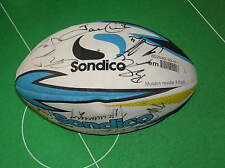 Huddersfield Giants 2014 Squad Signed Brand New Rugby Ball - Sixteen Autographs!