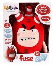 Oddbods Voice Activated Interactive Fuse Soft Toy  *BRAND NEW*