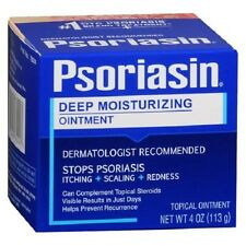 Psoriasin Multi-Symptom Psoriasis Relief Ointment 4 oz (113 g) UK STOCK NEW LOOK