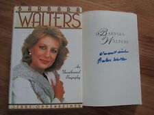 Rare BARBARA WALTERS signed BIOGRAPHY Book