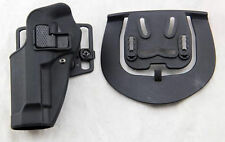 Airsoft Tactical CQC left Hand holster Paddle with Belt for M9 M92 Bereta Pistol