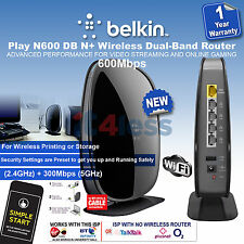 Belkin Wireless Dual-Band DSL WIFI Router , Access Point 600Mbps for Cable/Fiber