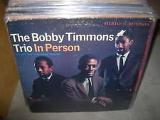 BOBBY TIMMONS in person ( jazz ) riverside 9391 stereo