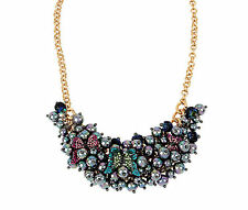 Betsey Johnson You Give Me Butterflies Beaded Bib Necklace NWT $65
