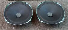 "General Electric 6"" 4 ohm Full Range Speakers / Tested / Matched Set / Woofers"