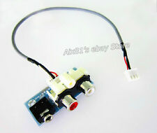Audio Signal Converter RCA Interface 3.5mm Audio Jack Socket for Amplifier Board