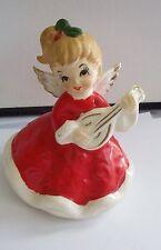 Cute Vintage Christmas Lefton Angel Figurine