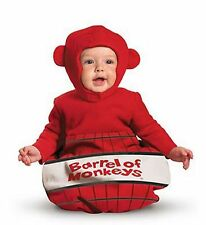 Baby Infant Barrel of Monkeys Halloween Costume 0-6 months