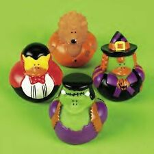 (1) Pk 12 HALLOWEEN ~ RUBBER DUCKS IN COSTUME ~ PARTY DUCKY FAVORS Duckies