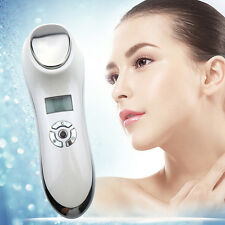 Ice Fire Ultrasonic Ultrasound Hot Cold Hammer Skin Face Tighten Beauty Machine