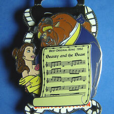 Beauty and Beast Best Original Song Music Sheet DSSH Disney Pin LE 400 OC RARE