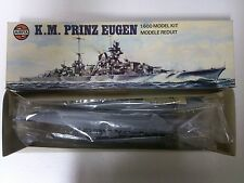 Airfix Vintage K.M Prinz Eugen 1:600 Unmade Sealed Bags MIB Model Kit Navy Ship