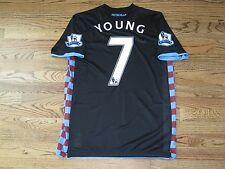 Young Aston Villa Manchester United Shirt Jersey Player Issue Match Un Worn