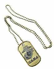 NEW Dog Tag with key chain U.S.M.C. U.S. Marines Corps. 2758.