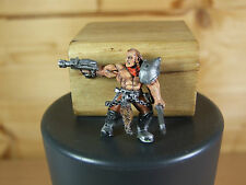 CONVERTED CLASSIC METAL NECROMUNDA BOUNTY HUNTER WELL PAINTED (1432)