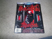 DEVIL MAY CRY (Playstation 2) VERSUS BOOKS Strategy Guide*w/poster*VOLUME 33
