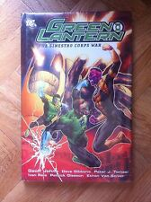 GREEN LANTERN THE SINESTRO CORPS WAR PAPERBACK HARDCOVER MINT (B13)