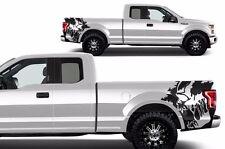 Custom Graphics Vinyl Decal Wrap Kit for 2015-2017 Ford F-150 SCREAM Matte Black