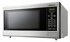 Panasonic NN-SN643S Stainless 1.2 Cu. Ft. Countertop/Built-In Microwave Oven