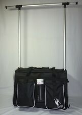 AMD Pack ' N ' Hang, Pull Along Dance Bag with Hanging Rack