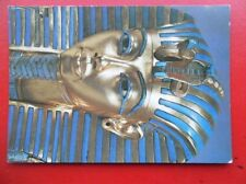 POSTCARD SOCIAL HISTORY THE TREASURE OF TUTANKHAMUN - THE GOLD MASK