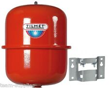 ZILMET RED HEATING EXPANSION VESSEL 12 LITRE CAL-PRO INC FIXING BRACKET